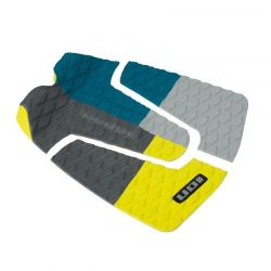 ION - Surfboard pads (3pcs) - petrol/grey/yellow
