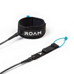 ROAM - 9' Premium Calf Leash - Black