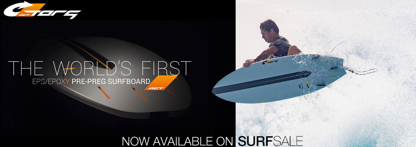 The first Pre-Preg Surfboard now available on SURFSALE